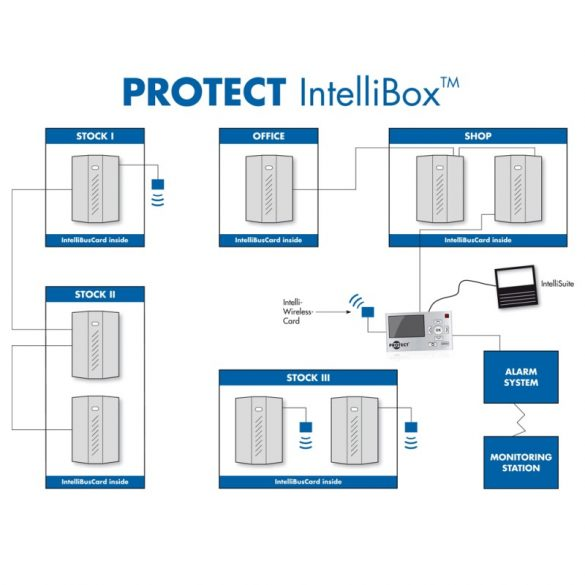 Unitate de conectare IntelliWirelessCard